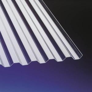 Trapecveida plastikāta jumta segumi - Polikarbonāta un PVC loksnes - Keraplast Latvia